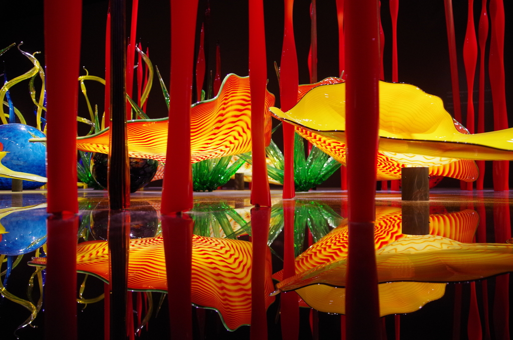 Chihuly Reflection