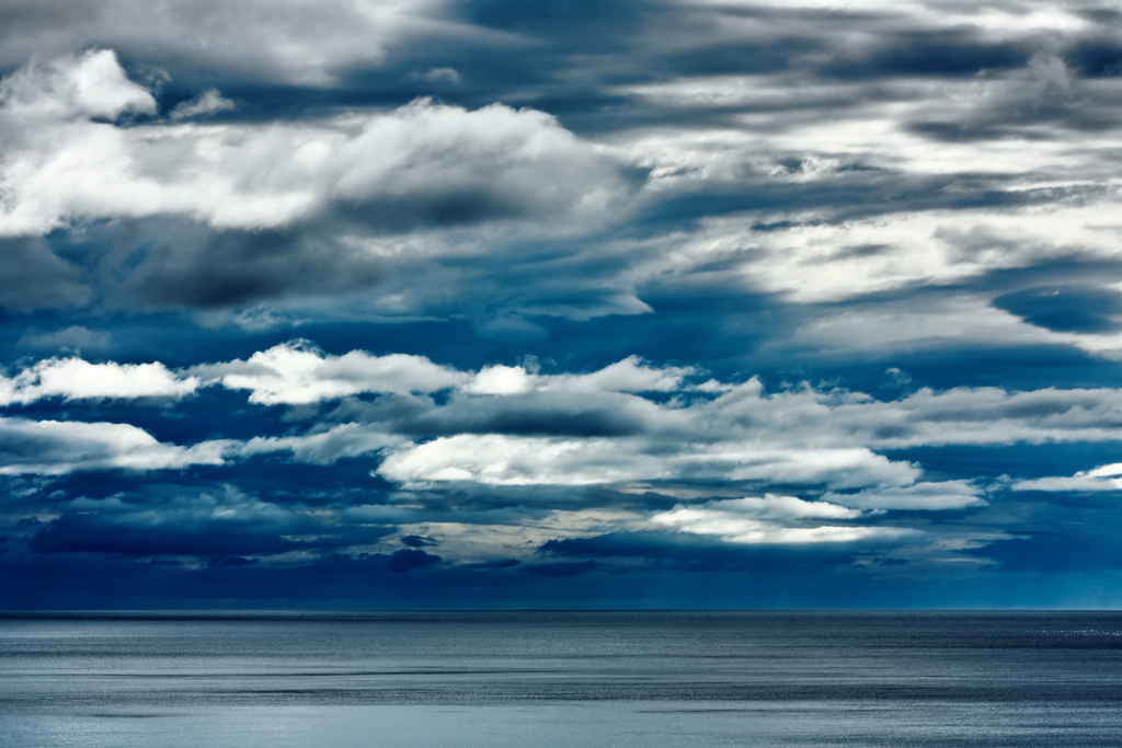 Coastal Clouds - HDR