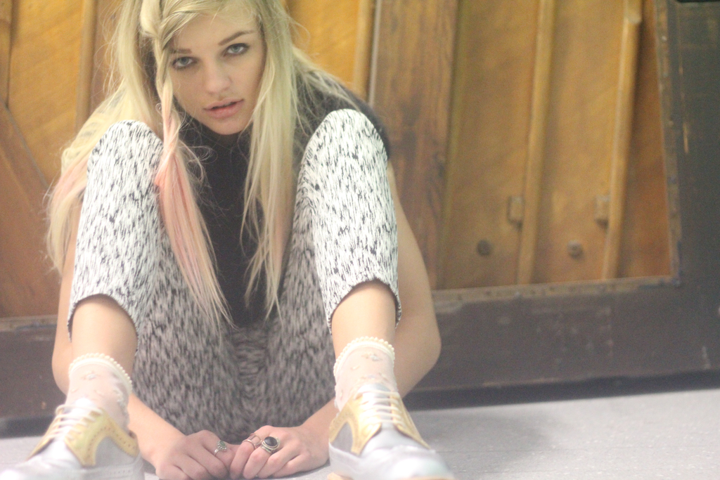 Dr Martens on How to Wear campaign girl photo shoot