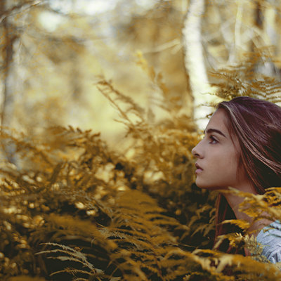 Image by Young girl in a yellow autumns forest. The image was taken on October 22, 2014 by maximilianmair. This photo is licensed under common creatives CC2 for free personal and commercial usage. Please refer to the link below for proper license description.