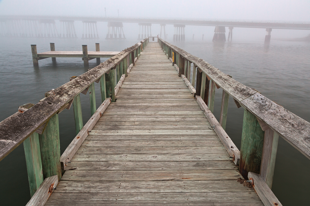 Misty Assateague Pier