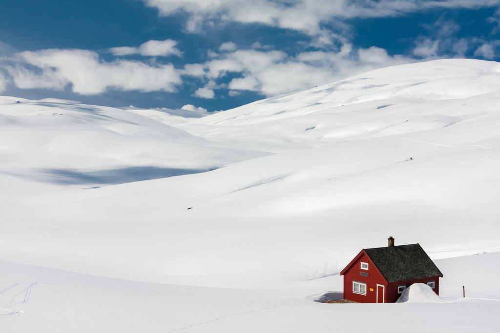 Norwegian snow desert